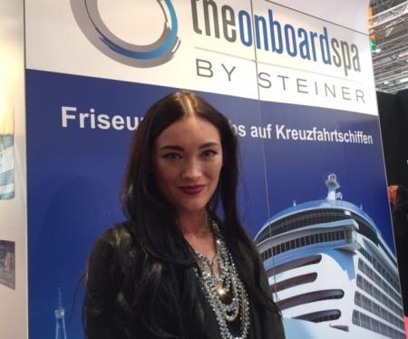 Friseurin Lorena Hartl Polanco sucht Talente für Kreuzfahrten.