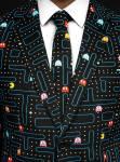 Mein neuer Anzug mit Pac Man-Motiven. Perfekt für mich als Retro Gamer. Foto: maskworld.com