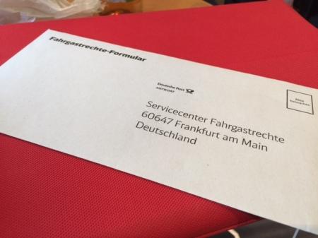 Fahrgastrechte wurden verteilt.