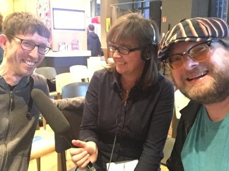 Radiointerview mit dem Deutschlandfunk