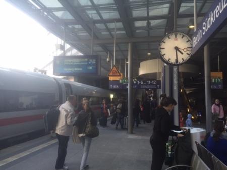 16:30 Uhr und ich bin in Berlin.