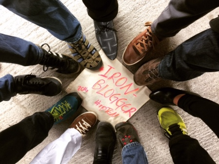 Die IronBlogger trafen sich in Berlin.