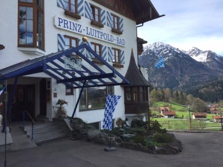 Ankommen bei Freunden im Hotel Prinz Luitpold Bad in Bad Hindelang.