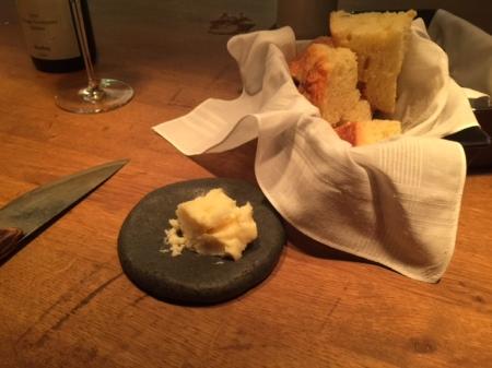 Hartweizengrieß Sironi Brot und Rohmilchbutter aus Stettin/Polen