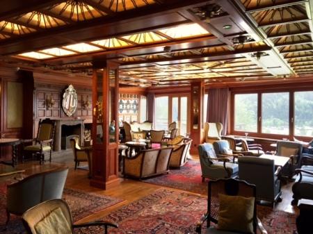 In diesem tollen Ambiente im Hotel Prinz Luitpold Bad  verköstigte ich den Ardbeg Cove 2016.