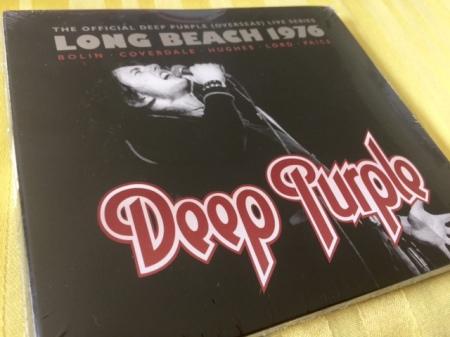 Deep Purple Live in Long Beach 1976, der sechste Teil der Official Deep Pruple (Overseas) Live Series.