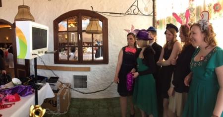 Foboxy war eine nette Abwechslung für die Hochzeitsgäste.