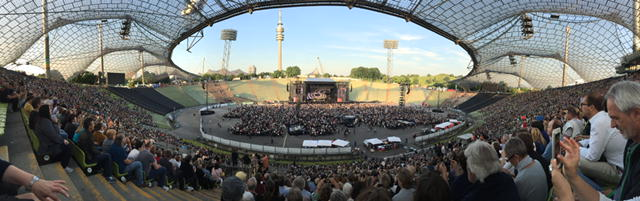 Paul McCartney im Münchner Olympiastadium