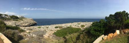 Blick aufs Meer - für mich eine Erholung.