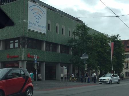 Die Kreisstadt Fürstenfeldbruck hat offenes WLAN - gut so.
