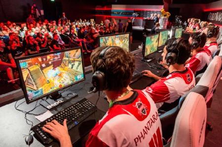 eSport auf der gamescom. Foto: Kölnmesse
