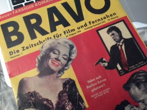 Die Erstausgabe der Bravo aus dem Jahre 1956