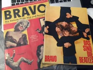 Und hier kommen die Beatles von der Bravo präsentiert.