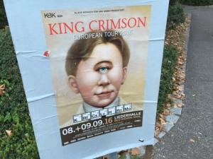 Das Tourplakat zur KC-Tour für Stuttgart.
