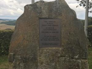 Gedenkstein für Franz Josef Strauß