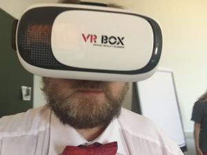Ich spiele gerade ein wenig mit VR herum.