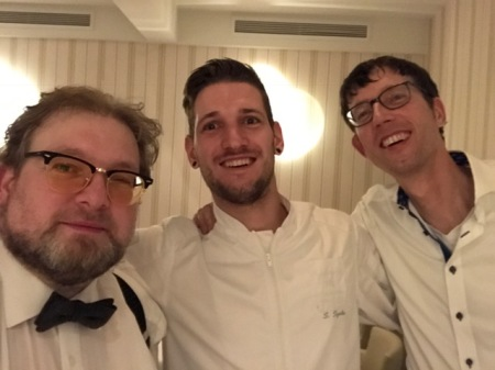 Zusammen mit Thomas Gerlach (r.) gratulierte ich Steffen Szabo zu seinem Stern.