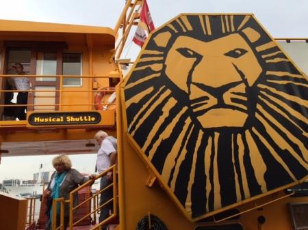 Das Logo zeigt das richtige Schiff.