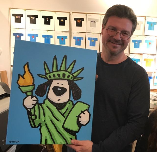 Ein toller Kerl und ein genialer Künstler: Ed Heck.