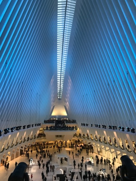 Ein Bahnhof wie eine Kathedrale.