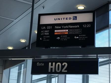 Klar zum Abflug am Flughafen München.