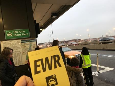 Der gelbe Taxi-Berechtigungsschein.