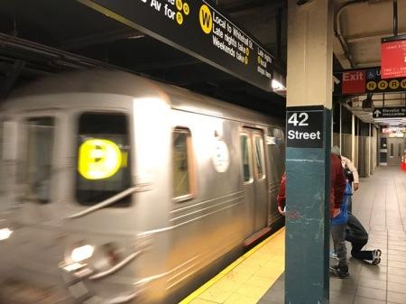 U-Bahn in New York ist eine ganz eigene Welt.