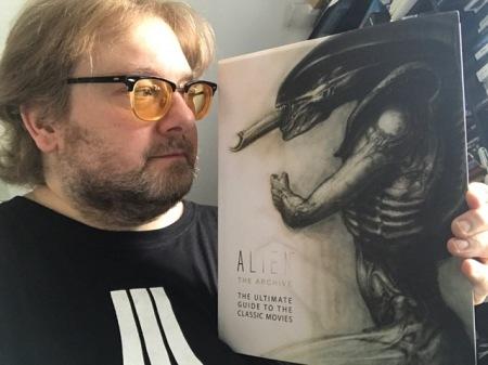 Als Alien-Fan brauchte ich diese Buch: Alien the Archive