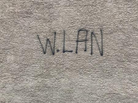 Nur mit WLAN kann ich richtig arbeiten.