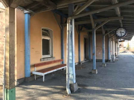 Mein erster Lost Place - ein Bahnhof in der Oberpfalz.