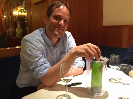 Armin Gross ist stolzer Hobbywinzer.
