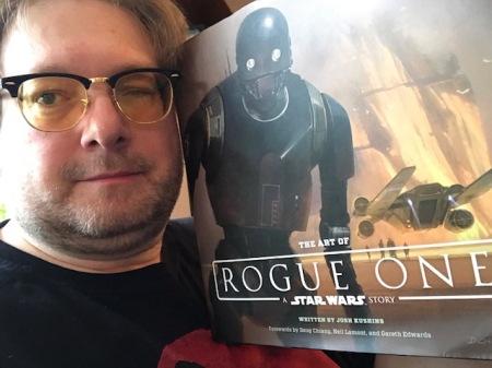Ich mag die Art of-Bücher und natürlich auch Art of Rouge One.