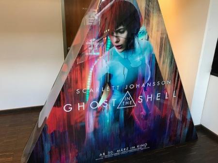 Für mich ein faszinierendes Stück Kino: Ghost in the Shell.