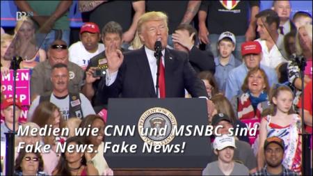 Der US-Präsident hetzt gegen unliebsame Medien.