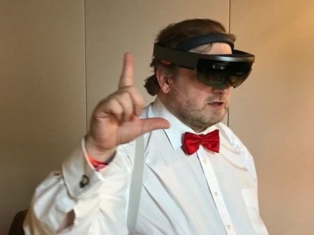 Die Hololens macht Spaß und ich sehe enorme Möglichkeiten.