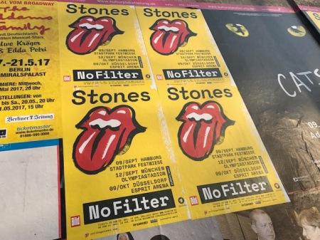 Ankündigung der NoFilter-Tour der Stones.