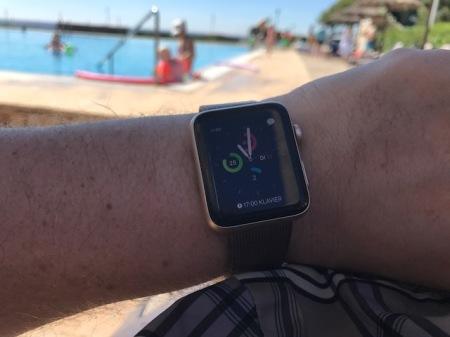 Die Apple Watch hat mich zum Sport motiviert.