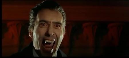 Dieses Mal spricht Dracula nicht und faucht nur.