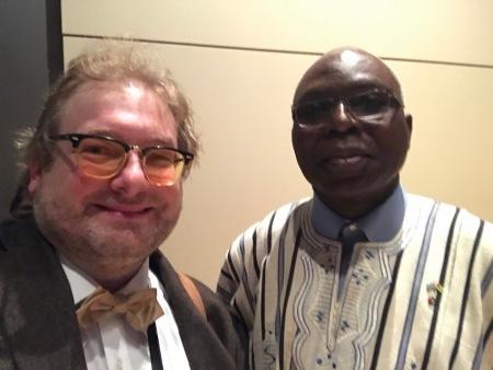 Ratsch mit dem Botschafter der Republik Togo in Berlin Michel Komi Dagoh