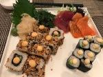 Perfektes Sushi aus der Goldenen Traube in Coburg. Inspiration für einen Selbstversuch.