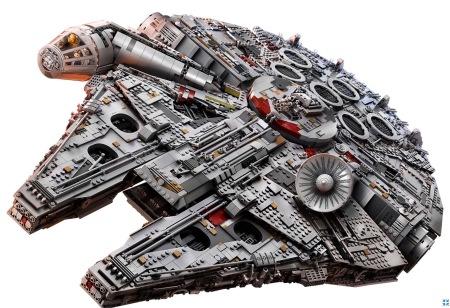 Wow, der neue Rasende Falke als Lego Set 75192