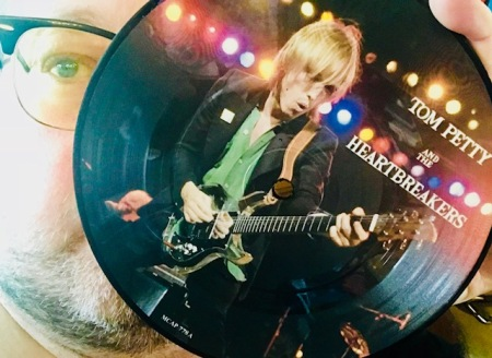 Meine einzige Picture Disc von Tom Petty.