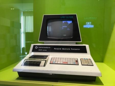 Der Computer war eine Revolution.