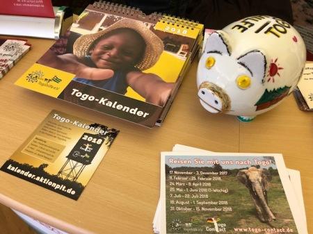 Der Togo-Kalender der Aktion PIT Togohilfe kostet 5 Euro.