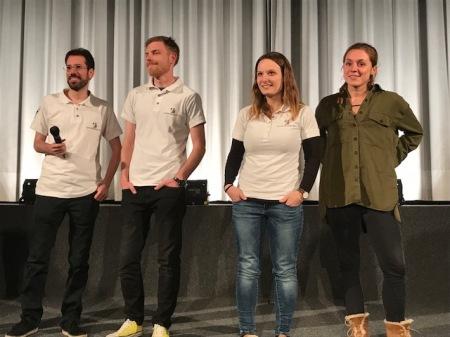 Das Filmgespräch zu Austreten mit dem Team im Lichtspielhaus Fürstenfeldbruck.