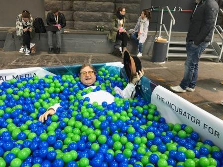 Sind zwar keine Triggerballs, machen aber auch Spaß. Foto: Tanja Kaiser