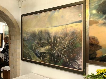 Ein wunderbares, großes Pastellbild von Helmut Sacher (1926-2010) gibt es derzeit in FFB bei der Galerie Bild+Rahmen zu sehen.