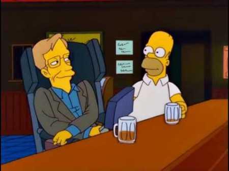 Homer und Stephen - zwei, die sich verstehen beim Bier. Foto: Fox