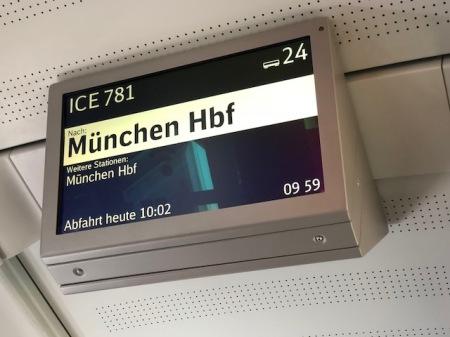 München, ich komme.