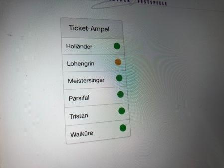 Lohengrin wird um 14:33 Uhr knapp. So ein Mist.